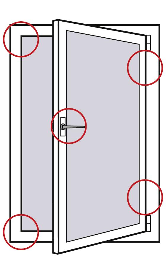 Aldra Sicherheitsstufe 1: Jede Fensterecke gesichert