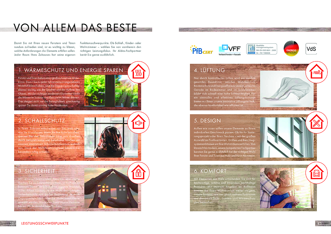 Neuer katalog f r holz und holz aluminium elemente for Neuer weltbild katalog