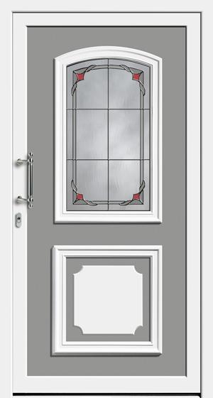 Haustür weiß landhaus  Haustür klassisch: Landhausstil oder Countrystil