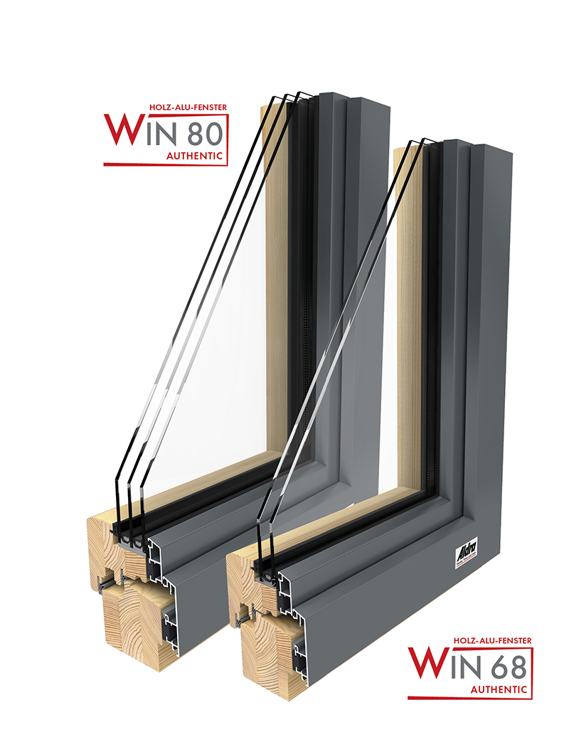 Holz-Aluminium Fenster WIN Authentic