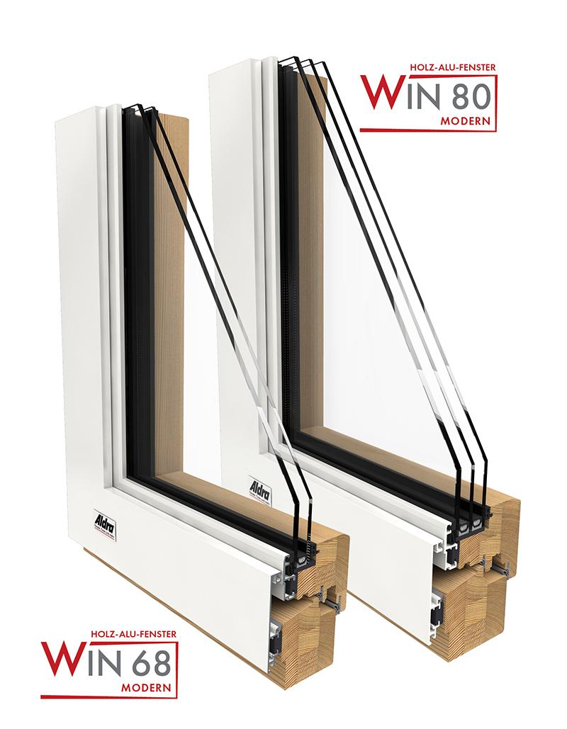 Holz-Aluminium Fenster WIN Modern
