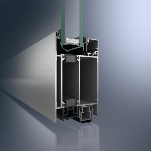 Profildesign der Aluminium-Haustüren